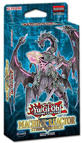Yugioh! - Machina Reactor & Dinosmasher`s Fury - Structure Deck - Deutsch (Machina - Deck Machina Yugioh Structure