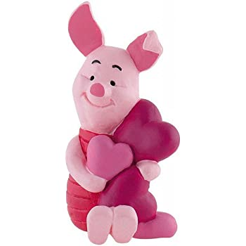 Porcinet Avec Coeurs De Winnie L Ourson Figurine 6cm Disney Amazon