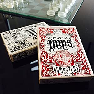 Whispering Imps Gamesters Professional Edition limitée Rare Magic Jeu de cartes de Poker