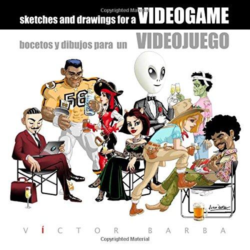 Bocetos y dibujos para un Videojuego: Creación gráfica de un videojuego