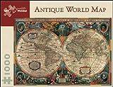 Antique World Map: 1,000 Piece Puzzle