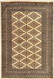 CarpetVista Pakistan Buchara 2ply Teppich 122x180 Orientteppich