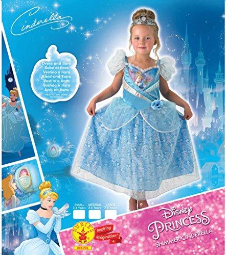 Imagen de cenicienta  shimmer vestido  disney princess  childrens disfraz  grande  128cm alternativa