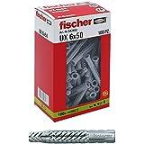 Fischer 542452 deuvel UX, grijs, 6 x 50 mm, 100 stuks