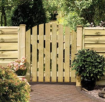 Dome Wooden Ledged & Braced Gate OGD133