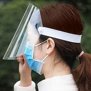 Bangcool Maschera per la bocca Maschera protettiva anti-appannamento anti-schizzi per il viso Maschere sanitarie