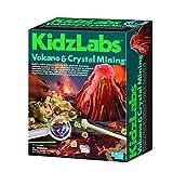 Thoughtful Gifts ideal für Kinder über dem Jahre 8+ 4M KidzLabs - Vulkan und Kristallbergbau