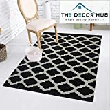 Designer Stylish Abstract Chenille Heavy Quality Carpet 7 feet (Length) x 5 Feet(width) For Home Decoration By The Decor Hub (Color2)