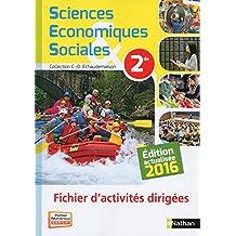 SES 2de - Fichier d'activités dirigées