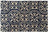 LAKO Fußmatte blau Größe 45x75 cm
