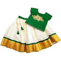 Stanwells Kids Baby Girl's Silk & Net Readymade Lehenga Choli