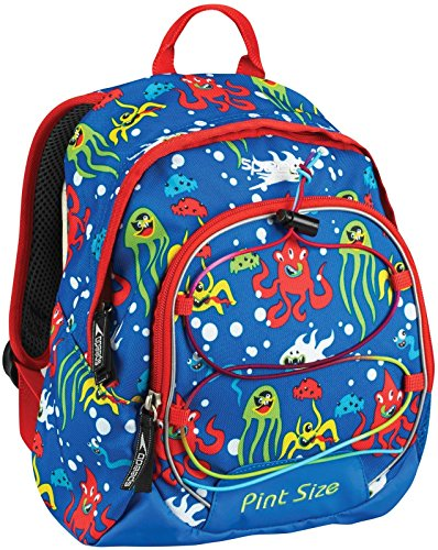 Speedo Boys Pint Size Backpack, Electric Blue