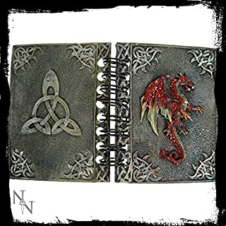 ALATOR MINI DRAGON NOTEBOOK 8.5cm x 6cm NEMESIS NOW (RED)
