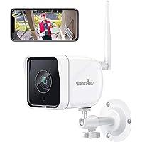 Wansview Telecamera Sorveglianza WiFi Esterno, 1080P Telecamera IP WiFi IP66, Telecamera di Sicurezza con Rilevamento di…