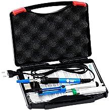 Soaiy® 6 en 1 - Kit de soldador, Soldador Electrico 60W 220V, Temperatura