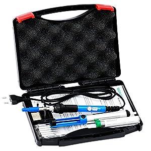 Soaiy® 6 en 1 – Kit de soldador, Soldador Electrico 60W 220V, Temperatura