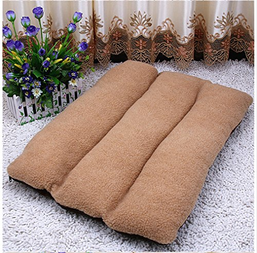 AcornPets-B-103-Extra-Large-Dog-Cat-Bed-Pet-Pillow-Fleece-120-x-80-CM-For-Large-Dogs-Cats-Using-Berber-Fleece-and-Suede-Nap-Detachable-and-Washable