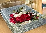 Tagesdecke Bettüberwurf 3D – Nokturn, 100% Polyester, 200x220 cm
