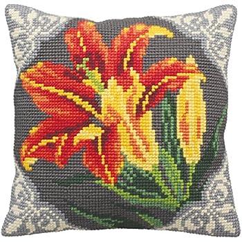 Collection DArt 5185 Flopsy /& Mopsy Kit de Coussin Gros Trous Coton Multicolore 50 x 45 x 0,1 cm