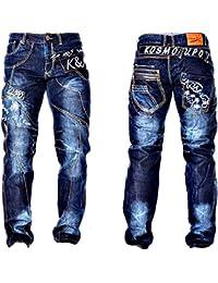 Kosmo Lupo Cargo Jeans Bleu KM322