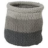 Sealskin Canasta de Almacenamiento Knitted, 15