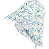 Bebé Sombrero de Sol Verano Niños Niñas Anti-UV Gorro De Playa con Ajustable Correa De La Barbilla