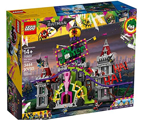 2 Batman Lego Joker (The LEGO Batman Movie 70922 the Joker Manor Spielzeug)