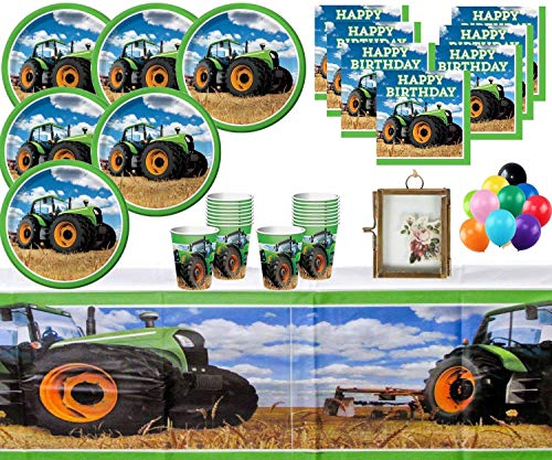 Usato, Trattore Party Compleanno Party Forniture Kids Party usato  Spedito ovunque in Italia