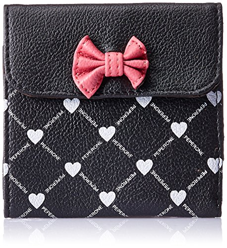 Peperone Women's Wallet (Black ) (PWLB841)  available at amazon for Rs.530