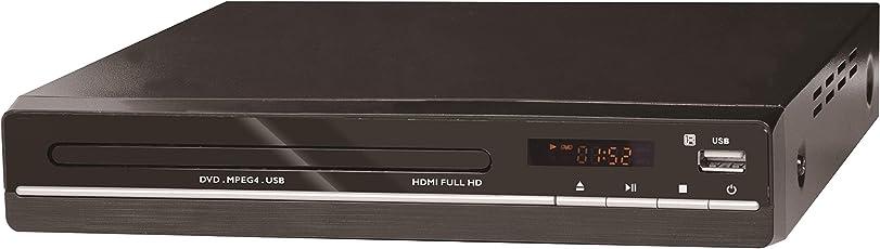 Reflexion DVD362 DVD-Player mit HDMI, USB und Fernbedienung Schwarz