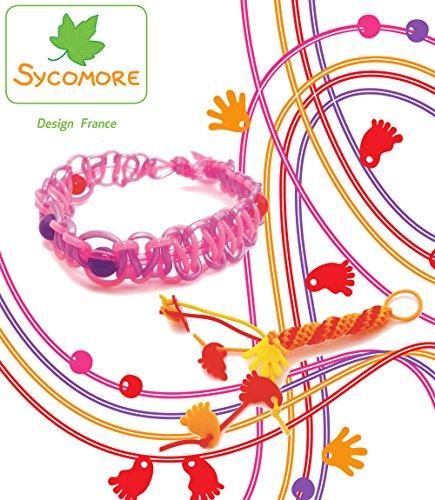 Sycomore CRE11020 - Loisirs Créatifs - Scoubidous - Lovely Box