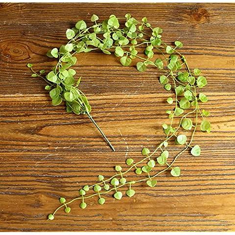 artificial de hojas de REAL TOUCH - de trébol de cuatro hojas de cañas de 4