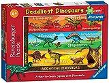 Ravensburger 05393 - L'era dei dinosauri, Puzzle 60 pezzi Giant
