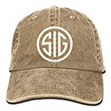 Best SIG SAUER Adult Retro Adjustable Casquette Cap Dad Trucker Hat