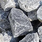 zierkiesundsplitt Ice Blue Gabionensteine Bruchsteine 1000kg Big Bag 40-60mm, 60-100mm, 80-140mm (40-60mm)