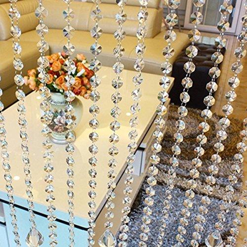 mohoo-10m-tenda-della-porta-di-cristallo-ottagonale-matrimonio-fai-da-te-chiaro-tallone-acrilico-gar