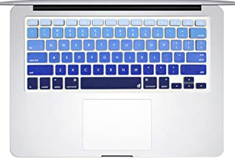 Laprite MAC-13KB Keyboard Cover (Gradient Blue)