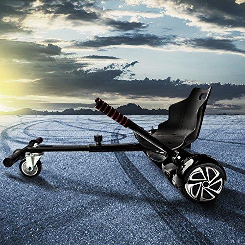 Bluewheel Hovokart HK200 Sitz Erweiterung für 6, 5-10 Zoll Hoverboard, E-Kart, Elektro Go-Kart, Sitzaufsatz, Schalensitz & Umbausatz, anpassbarer Stahl-Rahmen
