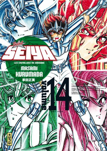 Saint Seiya Deluxe Vol.14 par KURUMADA Masami