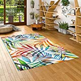 Pergamon Designer Teppich Faro Tropical Bunte Zweige in 5 Größen