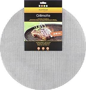 durandal grillmatte rund 48 cm wiederverwendbare bbq grillmatte f r gasgrill holzkohlegrills. Black Bedroom Furniture Sets. Home Design Ideas