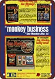 1973 Sell Sea-Monkey Kits Business Vintage Look Reproduction Metal Tin Sign 12X18 Inches