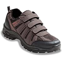 Mens Shoes Wide Fit Walking Touch Fasten Color