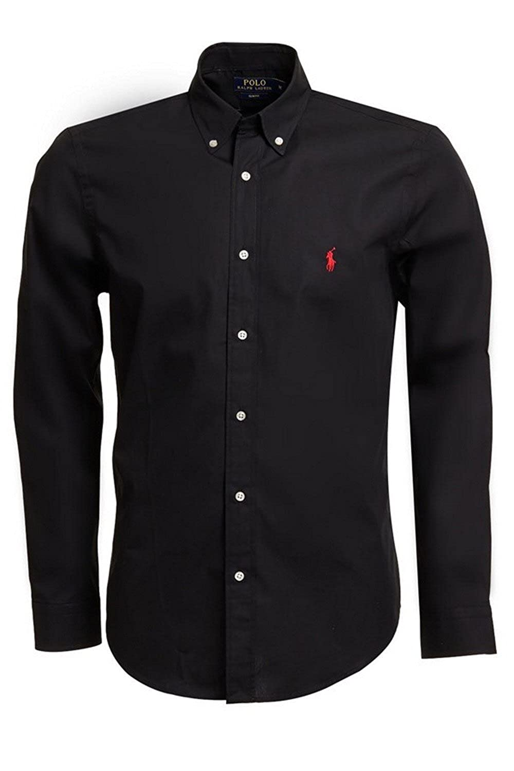 ralph lauren hemd wei? slim fit