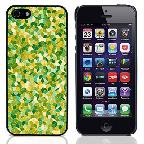 Graphic4You Grün Muster Harte Hülle Case Tasche Schutzhülle für Apple iPhone 5 und 5S Design #8