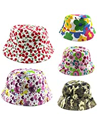 Huntgold 1X protector solar para niños Kids Bucket Beanie Hat (camuflaje)