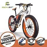 RICH BIT Bici elettriche da uomo Cruiser fat bicicletta TP012 1000 W * 48 V * 17AH fat...