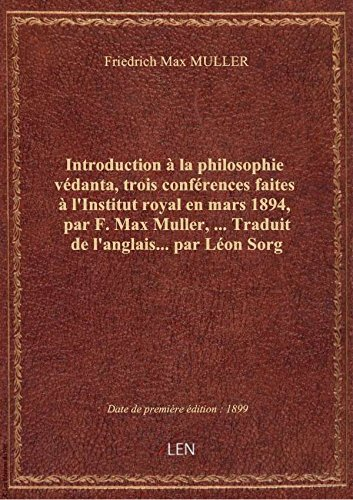 Introduction La Philosophie [Pdf/ePub] eBook