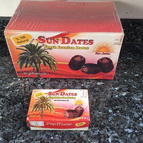 """Sun Dates"" Fresh Iranian Dates 600g (1 Pack) Test"