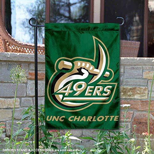Charlottes Garten (UNC Charlotte Garten Flagge und Hof Banner)